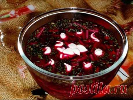 La okroshka sobre el kvas con el embutido: mejor poshagovyy la receta de la foto