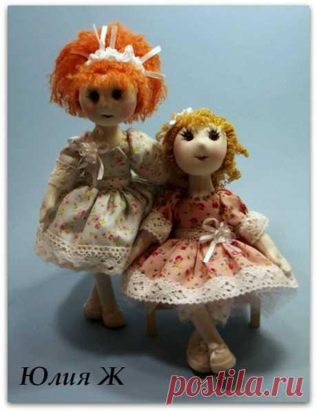 Мини куколки, на проволочном каркасе, из остатков ткани! Порадуйте дочку или внучку!   Юлия Жданова   Яндекс Дзен