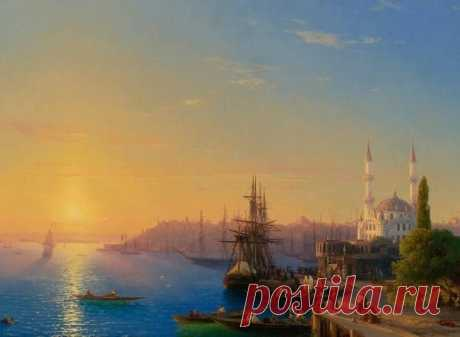 Sea landscapes of Ivan Konstantinovich Ayvazovsky