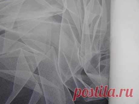 Ткань фатин (Италия) - купить ткань онлайн через интернет-магазин ВСЕ ТКАНИ