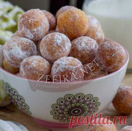 Творожные шарики жареные в масле — вкусные, пышные и воздушные — Кулинарные рецепты любящей жены