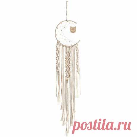 Macrame Wall Hanging Woven Wall Art Macrame Tapestry Home Decoration - US$7.99