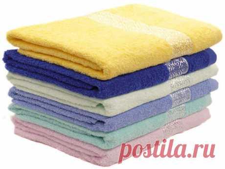 Как сделать махровые полотенца снова мягкими? 11 полезных советов   Упрости себе жизнь