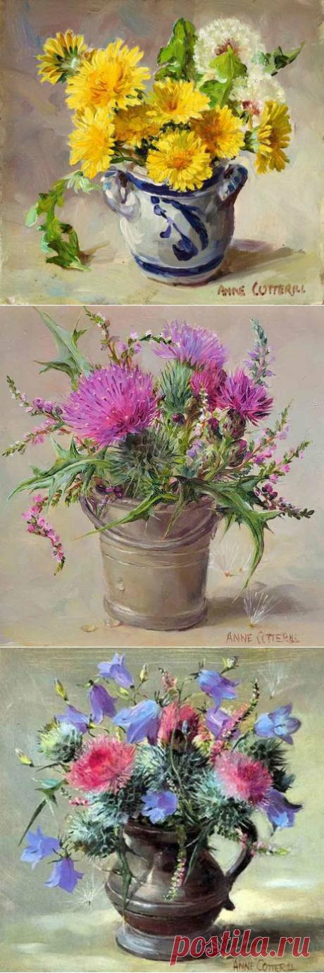 Цветы Anne Cotterill/ Энн Коттерилл.2часть