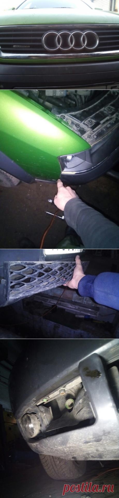 Снятие бампера на Audi A6 allroad quattro | Заметки автомеханика | Яндекс Дзен