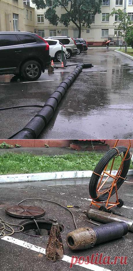 Реконстнукция канализационной сети