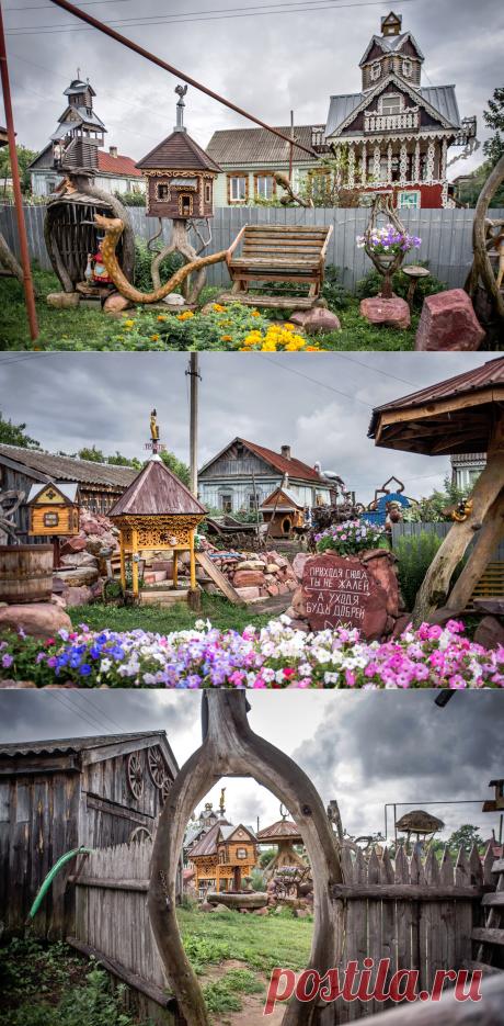 Чем дядя Коля привлекает туристов в свою деревню или в гостях у сказки   @juliaruspirit   Яндекс Дзен