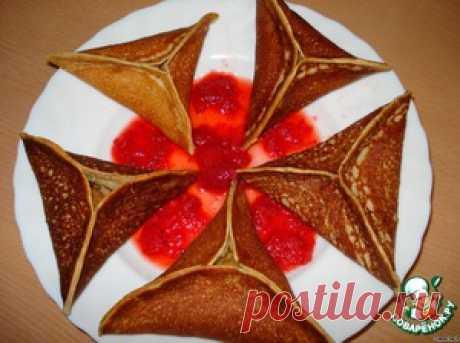 Арабские блинчики с яблоками - кулинарный рецепт