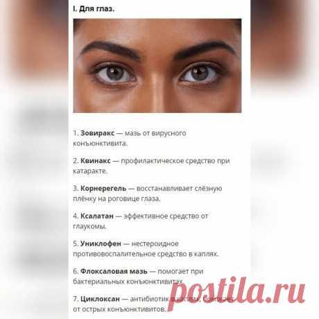 Список лекарств от разных болезней