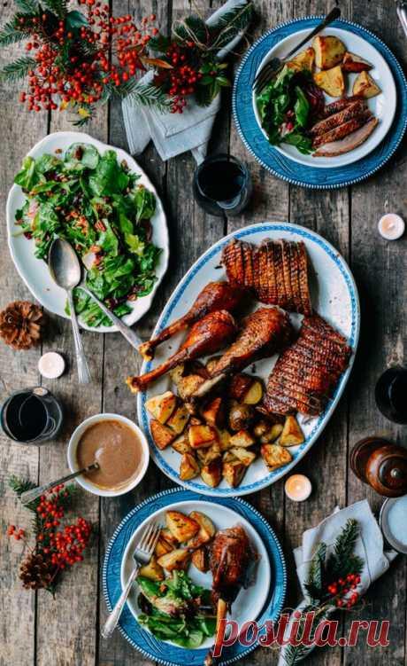 Праздничные обеды: полный гид по запеканию птицы (+ рецепт новогодней индейки) – Woman Delice
