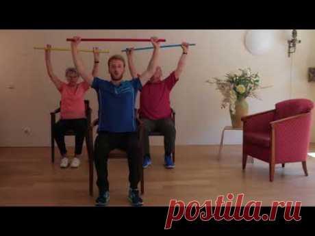 Cordaan Oefeningen met Stok - YouTube