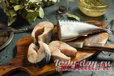 Маринованная скумбрия, пошаговый рецепт с фото | Простые рецепты с фото