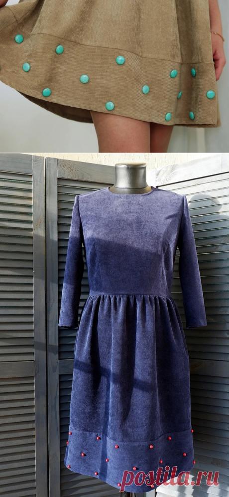 Стильное решение: декорируем одежду при помощи бусин — Мастер-классы на BurdaStyle.ru
