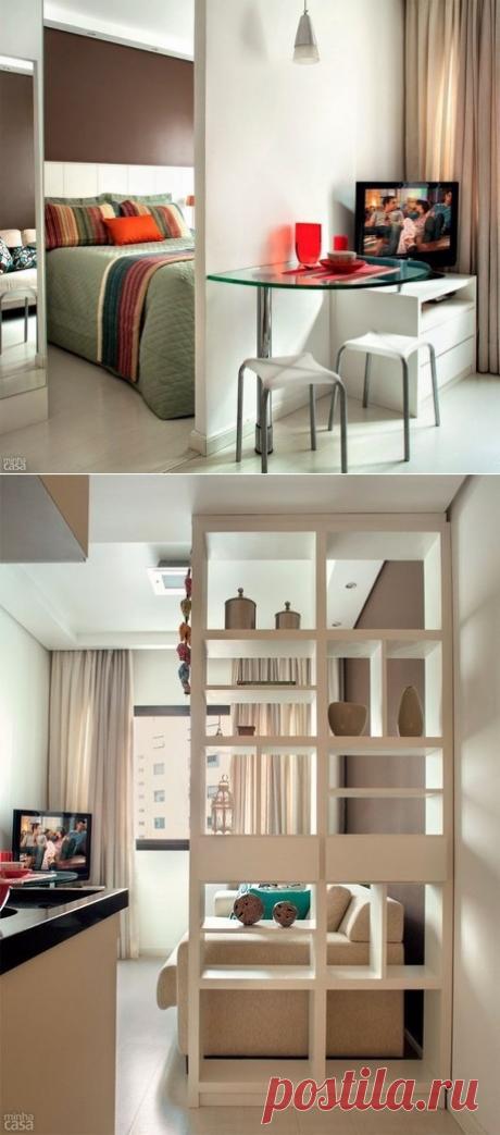 Идея для обустройства маленькой квартиры - Дизайн интерьеров   Идеи вашего дома   Lodgers