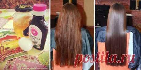 Маска для укрепления и быстрого роста волос