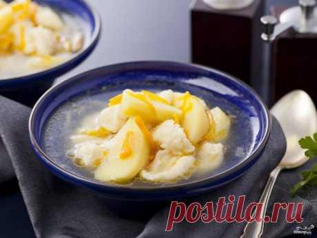 Суп с клёцками в мультиварке - пошаговый рецепт с фото на Повар.ру