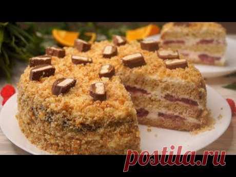 Мгновенный торт! Все будут без Ума! - YouTube