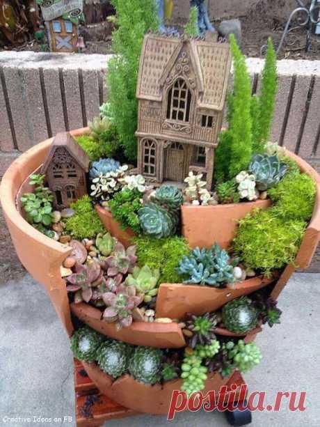 Практические идеи миниатюрных садов. / Я - суперпупер