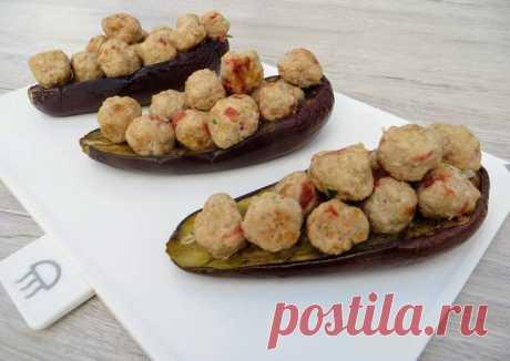 Жалею, что не готовила так раньше Баклажаны с фаршем по-новому / Eggplant with meat - пошаговый рецепт с фото. Автор рецепта Другая Кухня-Валерия . - Cookpad