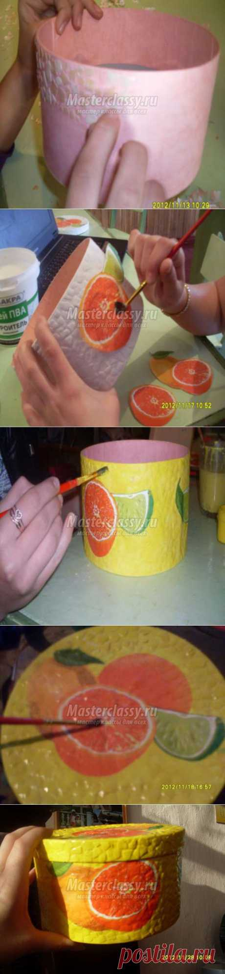 Decoupage egg shell. Casket. A master class with a step-by-step photo