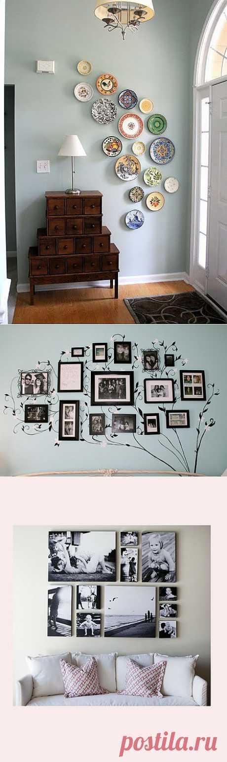 Красивые идеи по украшению стен
