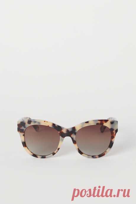 Поляризационные очки - Бежевый/Черепаховый узор - Женщины | H&M RU