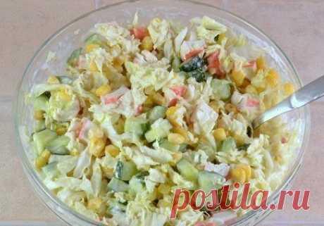 Подборка салатов со свежими огурчиками: летние, полезные и очень вкусные