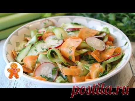 Салат из Маринованных Овощей на Скорую Руку