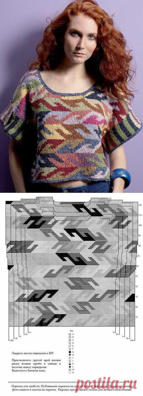 Вязание в технике интарсия: особенности применения схем и вязания моделей одежды