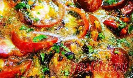 Помидоры в остром соусе | Четыре вкуса