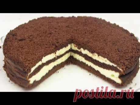 КОРОЛЕВСКИЙ Творожный  Пирог-Торт/ВКУСНО И ПРОСТО!