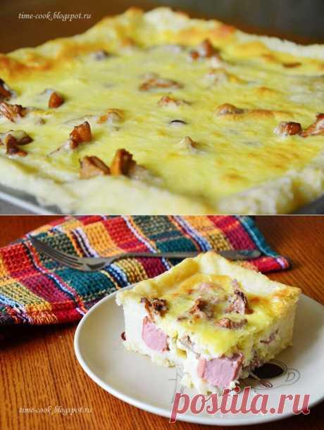 Мастерская на кухне: Картофельная запеканка по мотивам французских тартов.