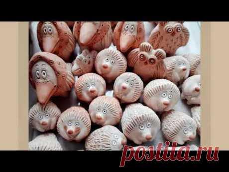 Сказочные образы в современных народных глиняных игрушках. Дивеевская игрушка
