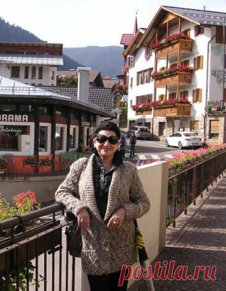 Жакет из меланжевой пряжи | Вязание для женщин спицами. Схемы вязания спицами