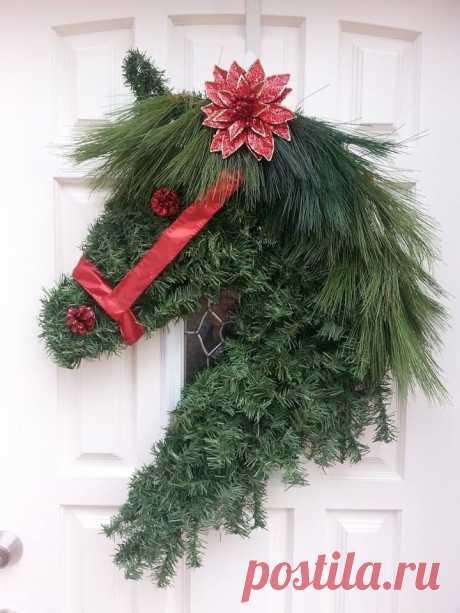 Рождественская лошадь