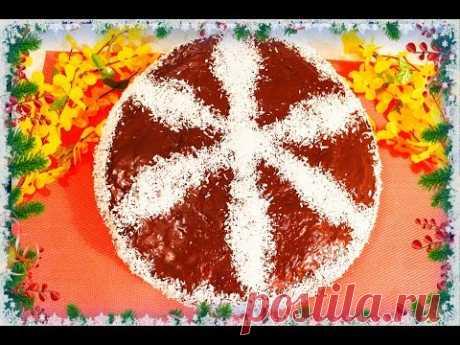 Безумно вкусный постный торт Ромашка! Рецепт постного и вегетарианского торта - YouTube Очень легко и просто приготовить. Попробуйте!
