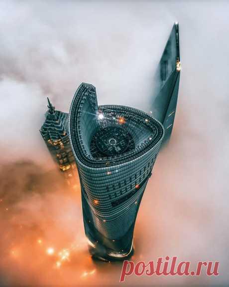 Небоскрёбы Шанхая ...