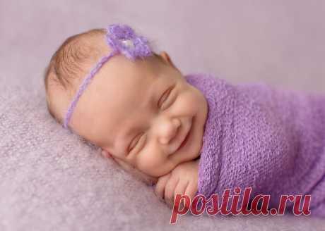 Фотограф, который ловит улыбки спящих младенцев Эти фото способны растопить самое холодное сердце: