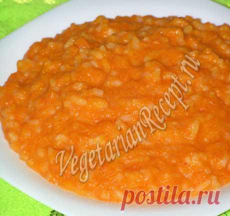 Каша из тыквы с рисом на молоке - проверенный рецепт с фото