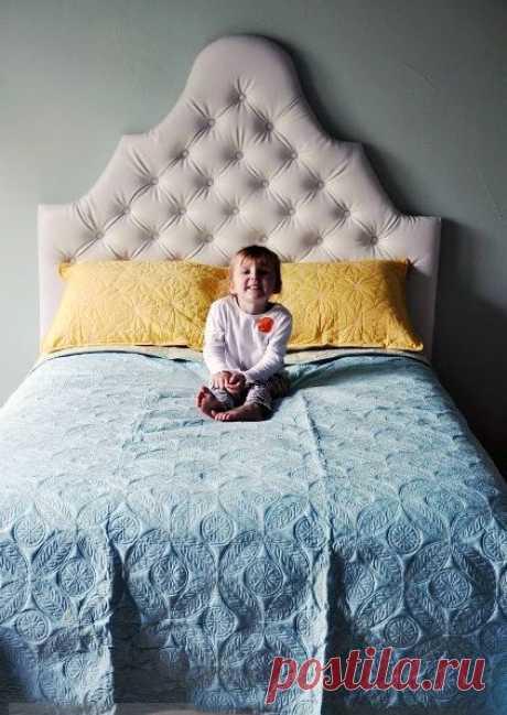 Делаем мягкое изголовье кровати — Наши дома