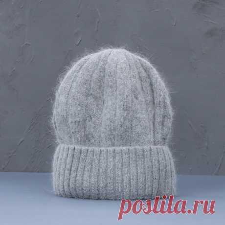 662р-Женская зимняя шапка из смеси кашемира, длинные меховые теплые мягкие шерстяные вязаные шапки, женские шапочки, облегающие шапки, оптовая продажа | Аксессуары для одежды | АлиЭкспресс