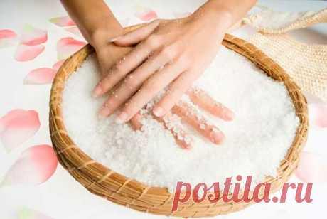 Соль для ногтей: невероятный эффект! | Блог о секретах женской красоты | Яндекс Дзен