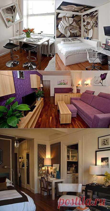 Дизайн однокомнатных квартир (фото). Планировка маленькой однокомнатной квартиры для двоих