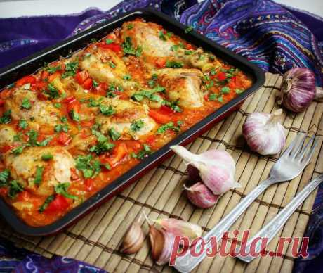 Chakhokhbili with chicken (Georgian cuisine) - Simple recipes of Овкусе.ру