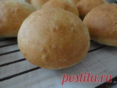 Хлебные булочки со льном : Хлеб, батоны, багеты, чиабатта
