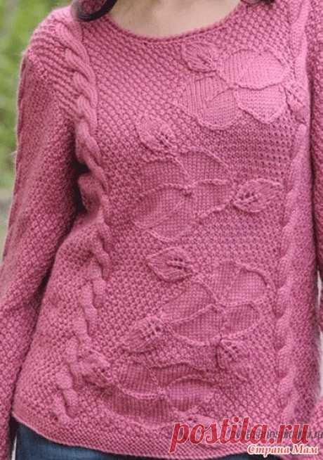 . Пуловер от дизайнера Susie Bonell - Вязание - Страна Мам