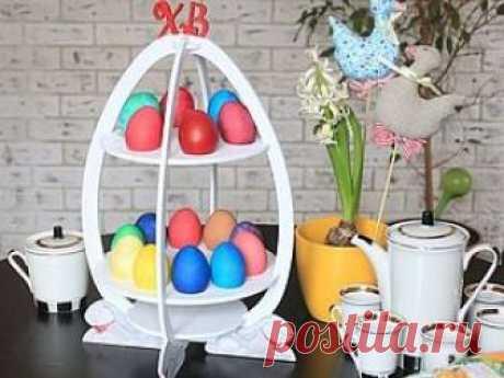 Подставка для яиц из фанеры     Представляю вашему вниманию авторскуюсамоделку— подставку для яиц. Когда яйца сварены, всегда возникаем проблема — куда их положить. На тарелку — неудобно, на столе они катаются… Конечно, можно …