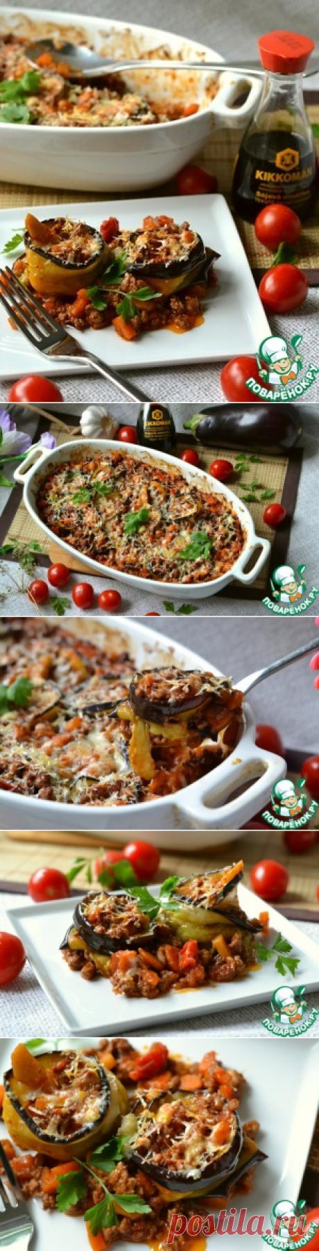 Овощное рагу с мясом и баклажанами - кулинарный рецепт