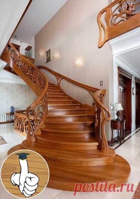 Лестница ручной работы