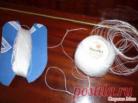 Небольшие хитрости вязания скользкой нитью - Справочник пряжи. Виды и свойства - Страна Мам